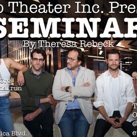 """Seminar"""" by Theresa Rebeck"""