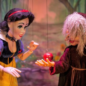 "Snow White and the Seven Dwarfs"": Marionette Show"