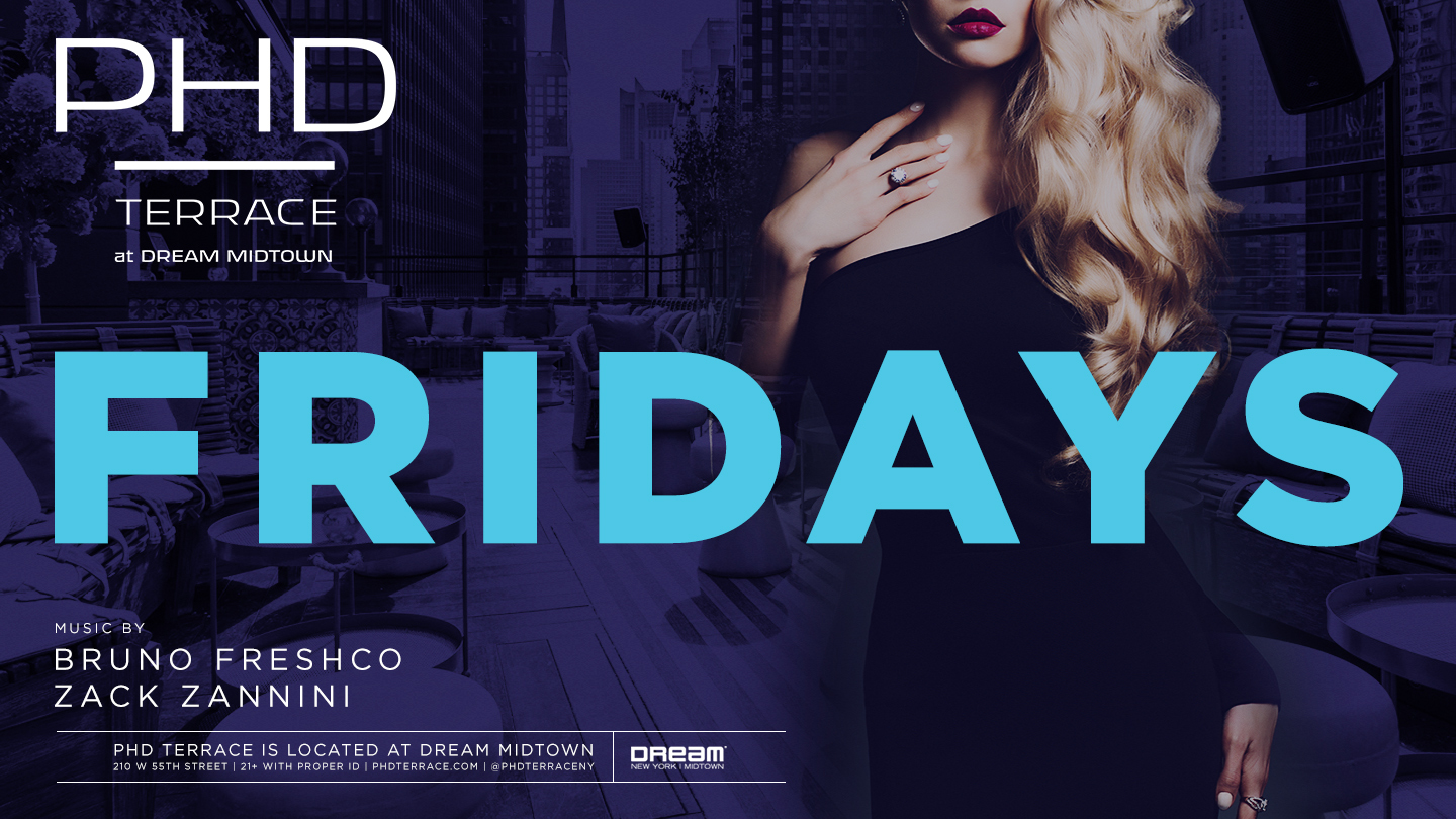 End Your Week at a Rooftop Party