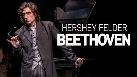 Hershey Felder as Beethoven