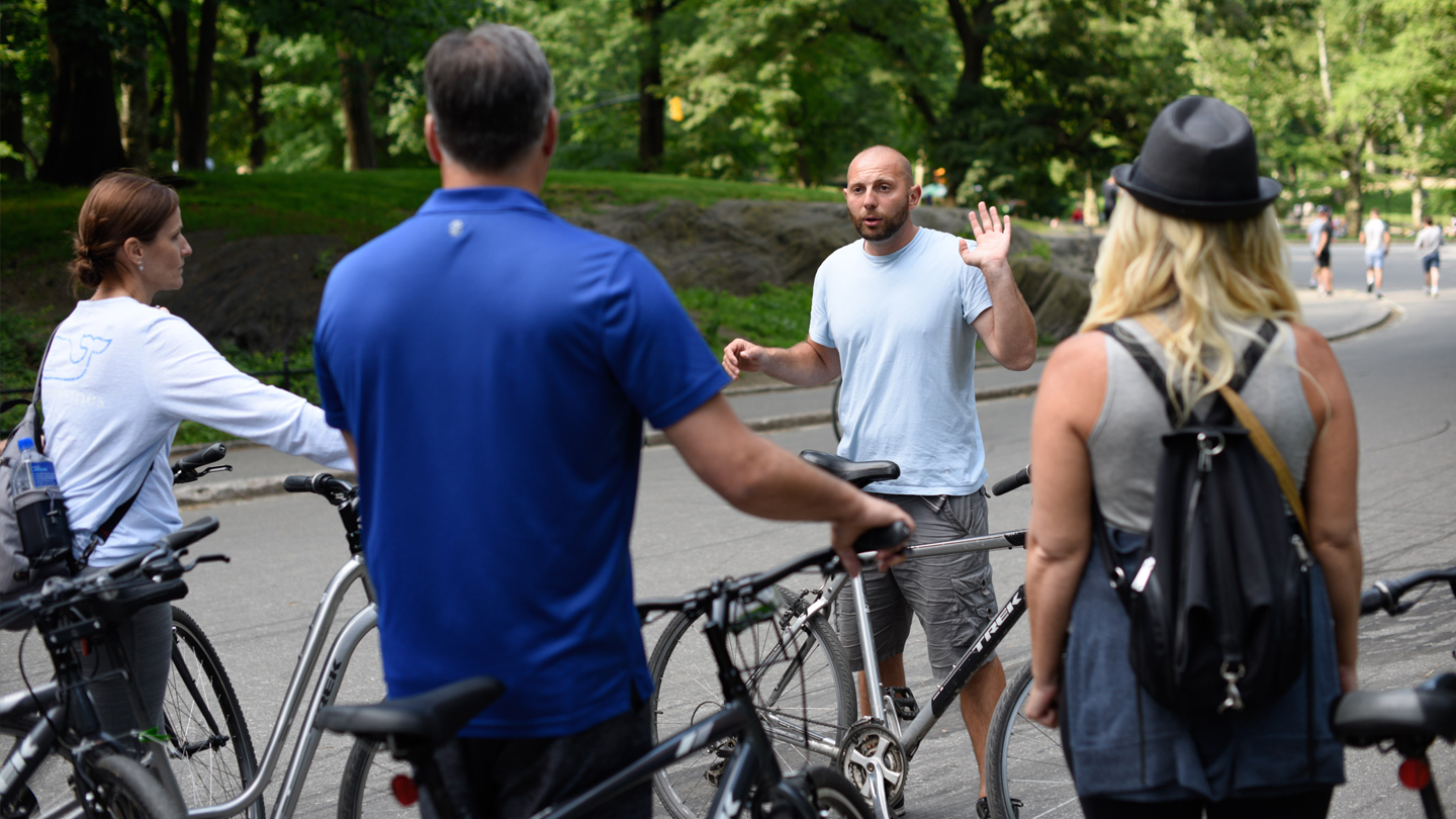 Guided Central Park Bike Tour