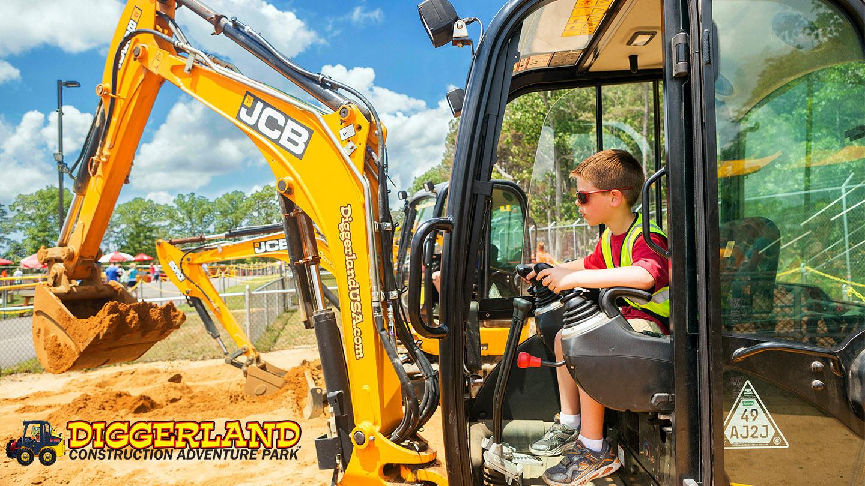Diggerland USA: Operate Big Machinery & More