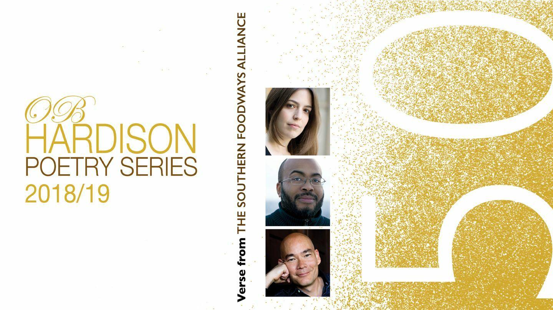 Poets Sandra Beasley, Sean Hill, and Atsuro Riley Washington, D.C. ...
