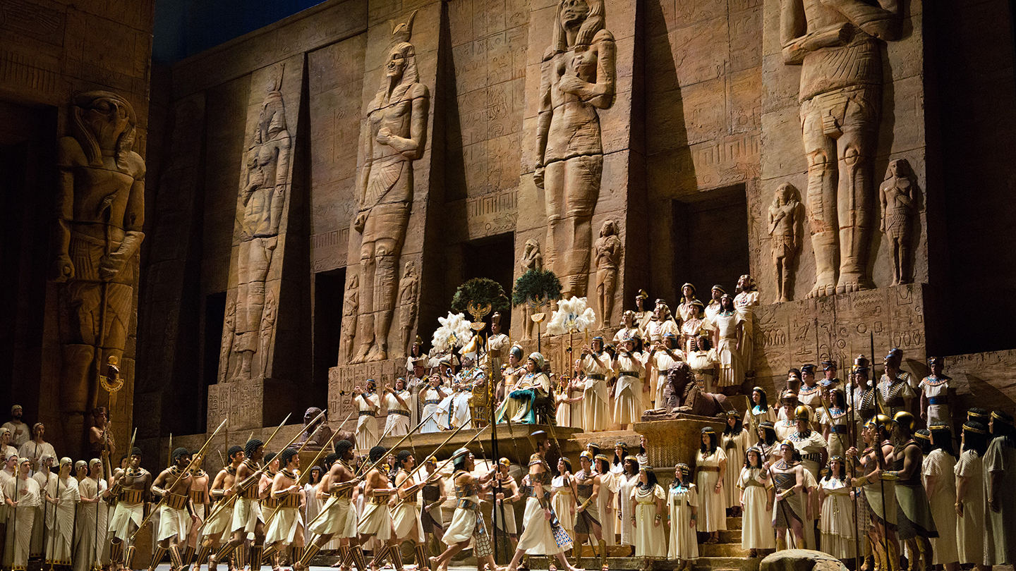"Verdi's Magnificent ""Aida"" at the Metropolitan Opera House"