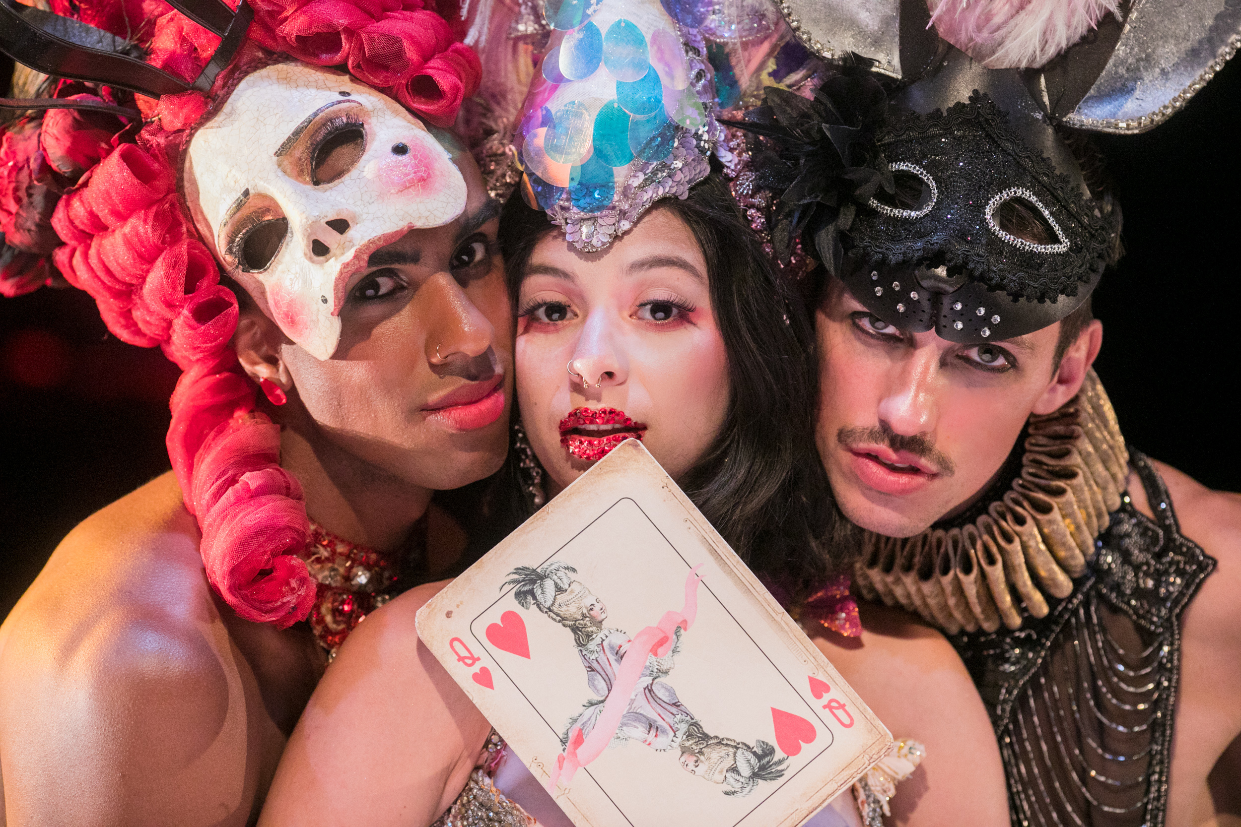 """Queen of Hearts"": Baroque Burlesque Theater"