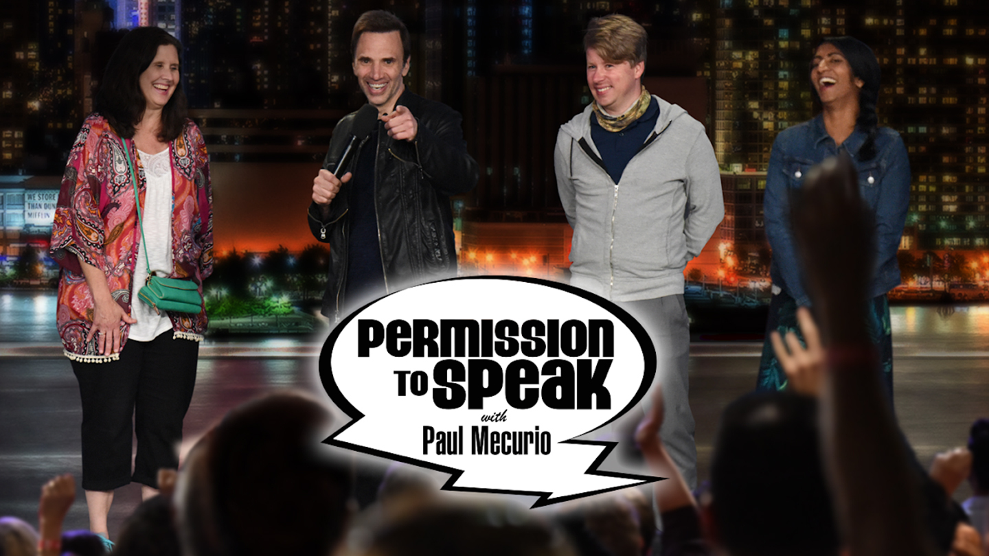 "Emmy Winner Paul Mecurio's ""Permission to Speak"""
