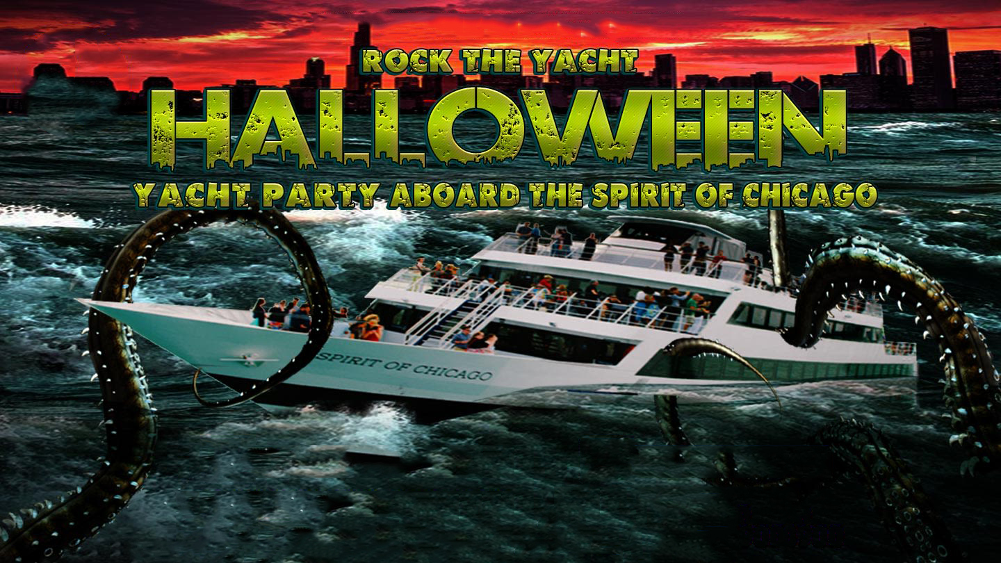 rock the yacht: halloween party chicago tickets - n/a at spirit of