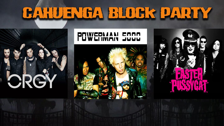 halloween weekend at cahuenga block party los angeles 2018 los