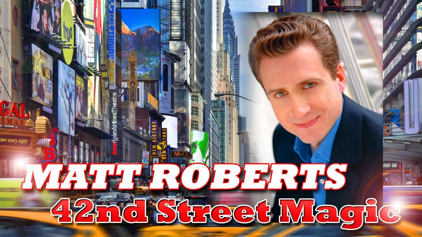 Illusionist Matt Roberts Mixes Comedy & Magic