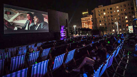 Halloween Rooftop Movies at The Montalbán