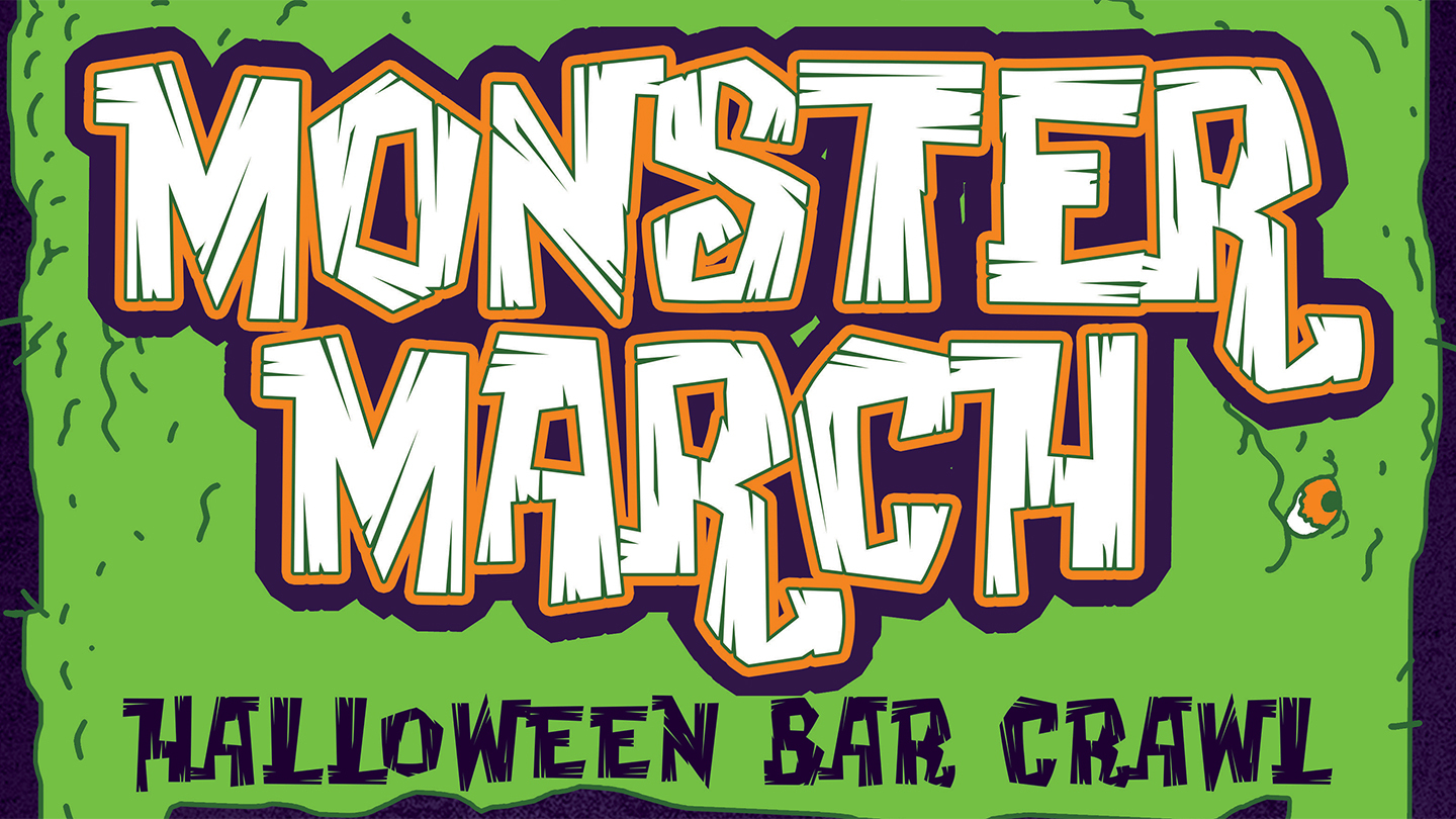 monster march halloween bar crawl philadelphia tickets - $10 at the