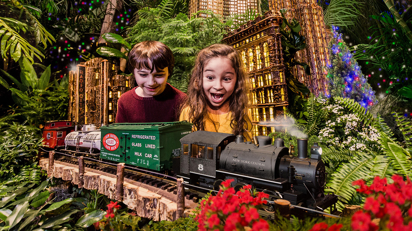 "New York Botanical Garden's ""Holiday Train Show"" Is Better Than Ever: See Mini NYC Landmarks & More"