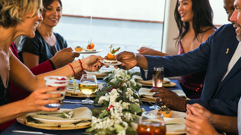 Festive Holiday Lunch Cruise: Buffet, Music & the New York Skyline