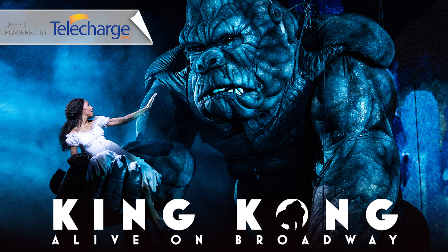 """""""King Kong"""" Conquers Broadway in Musical Spectacle"""