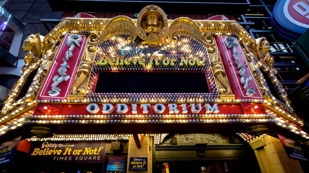 Ripley's Believe It or Not! Times Square: See Weird and Unusual Artifacts from around the world.