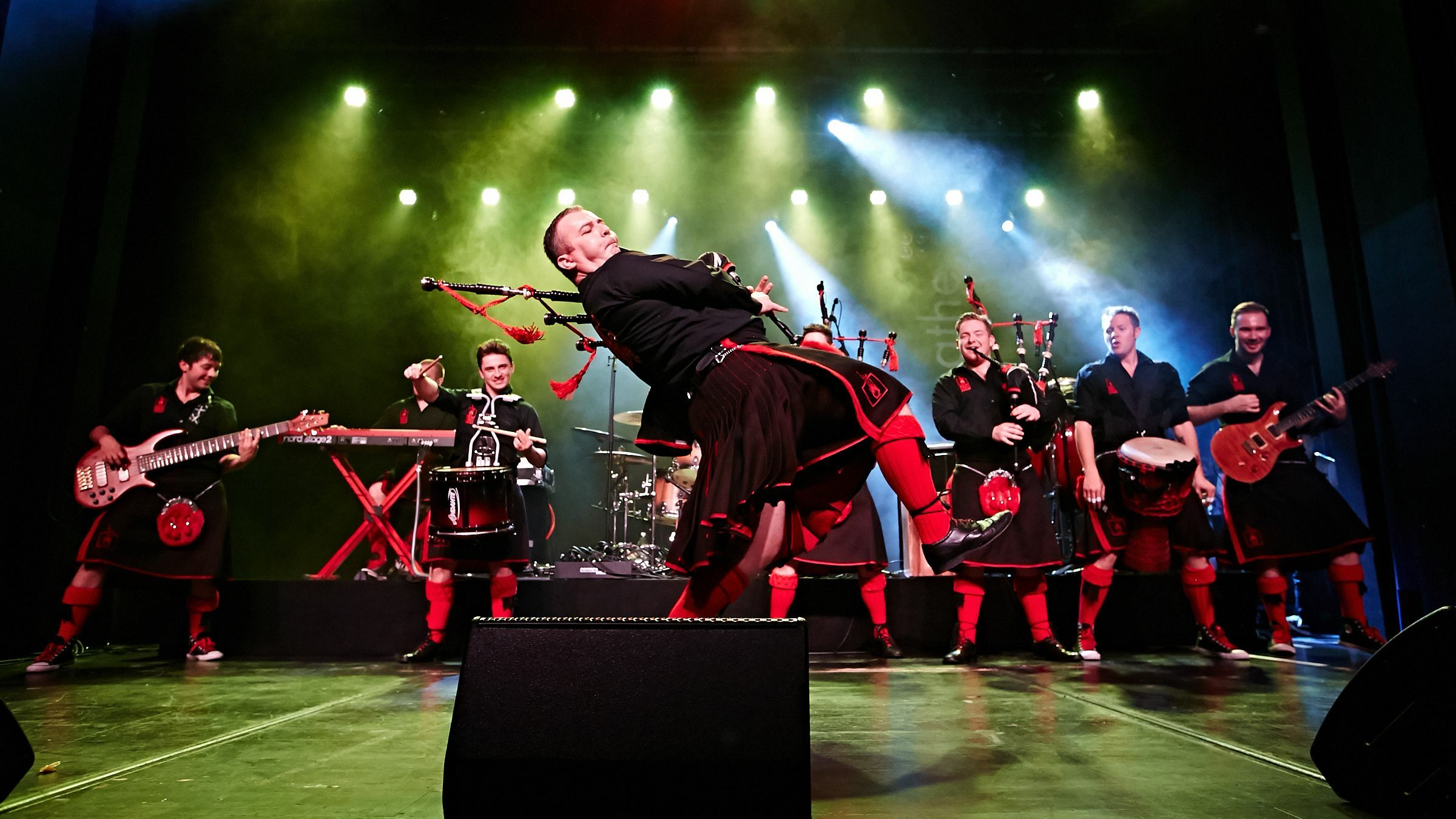 Bagpipe Rockers: Red Hot Chilli Pipers