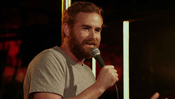 Comedian Andrew Santino (I'm Dying Up Here)