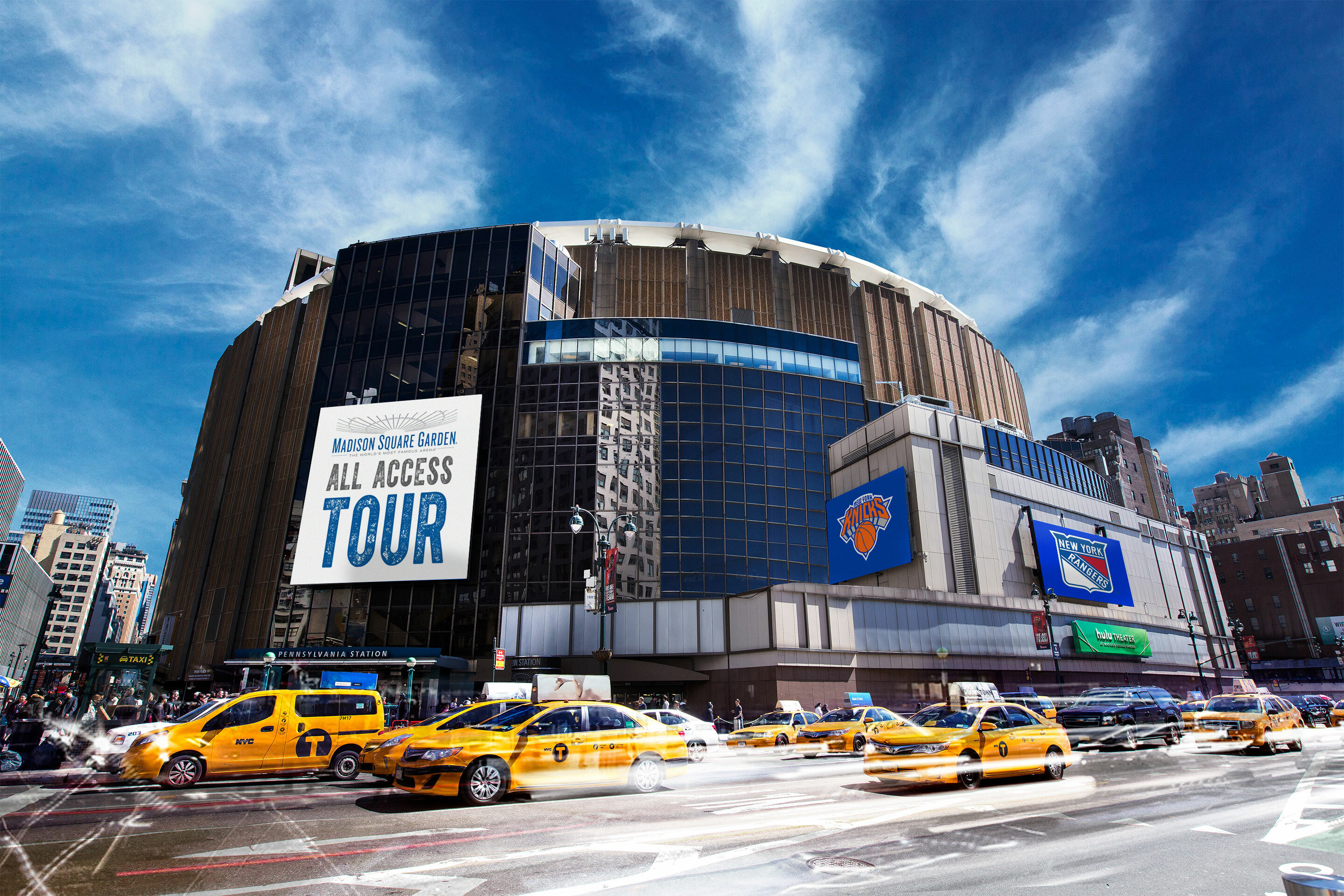 Go Behind the Scenes at MSG