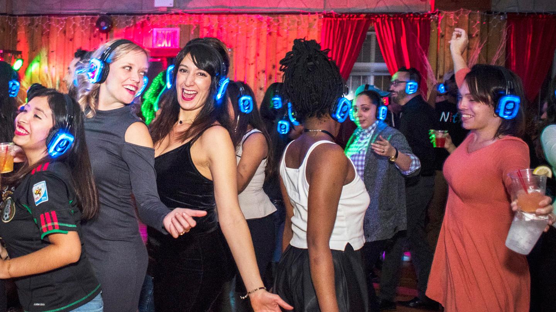 Bronx Brewery Quiet Clubbing Hip-Hop Party