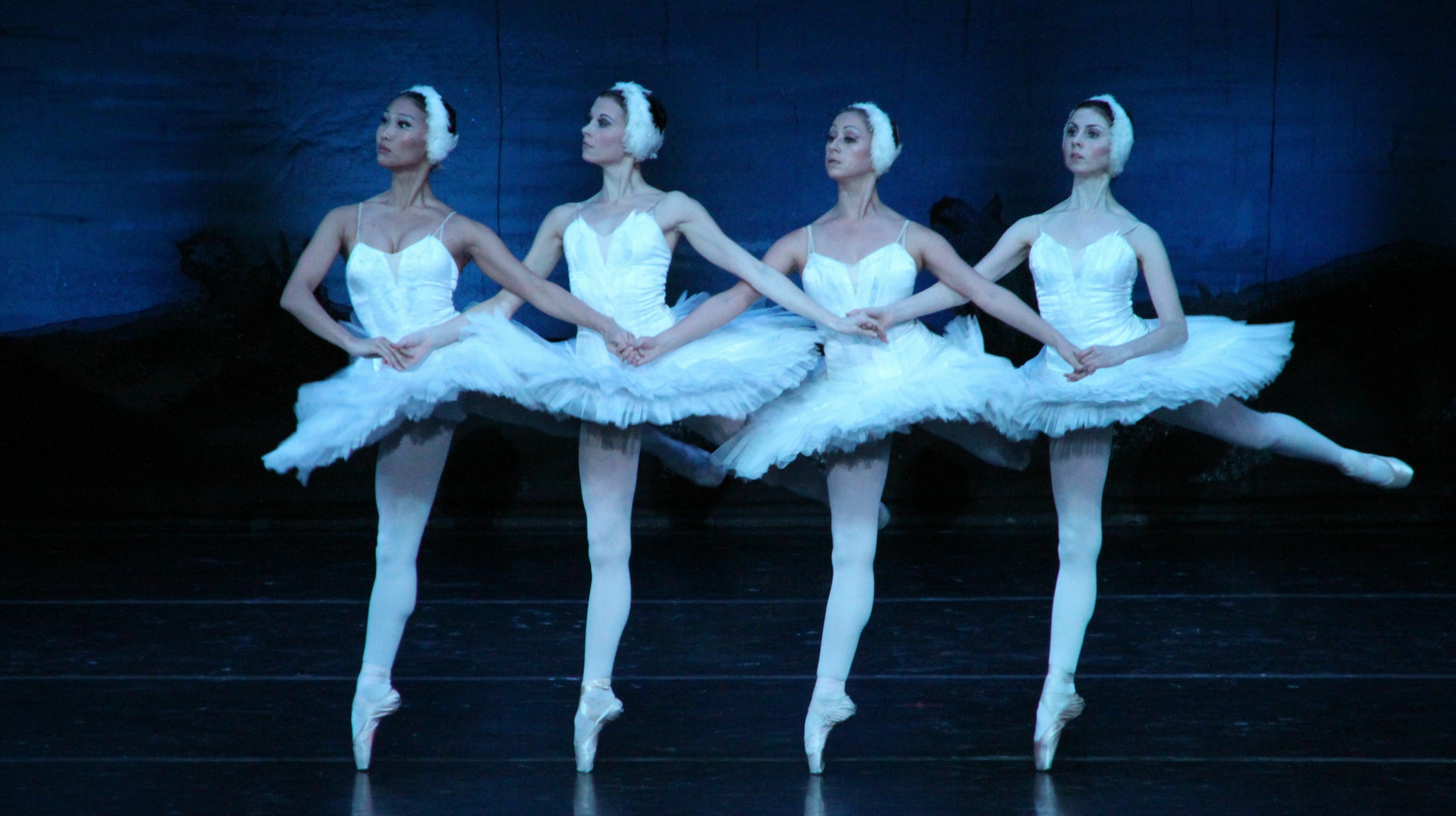 "Russian National Ballet Performs ""Swan Lake"""