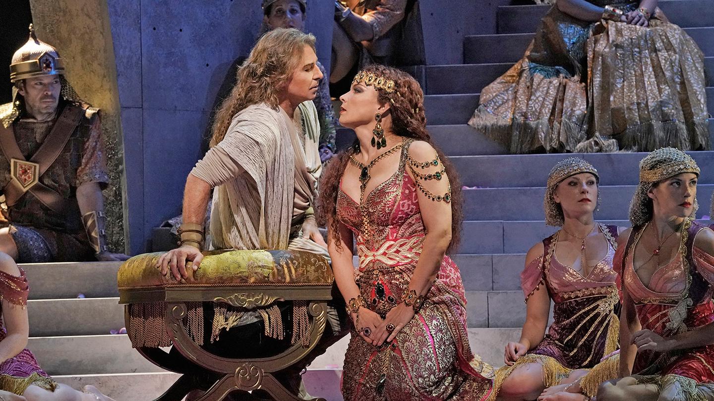 "The Met's Star Duo in ""Samson et Dalila"""