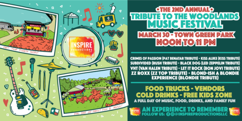Tribute to the Woodlands Music Festival