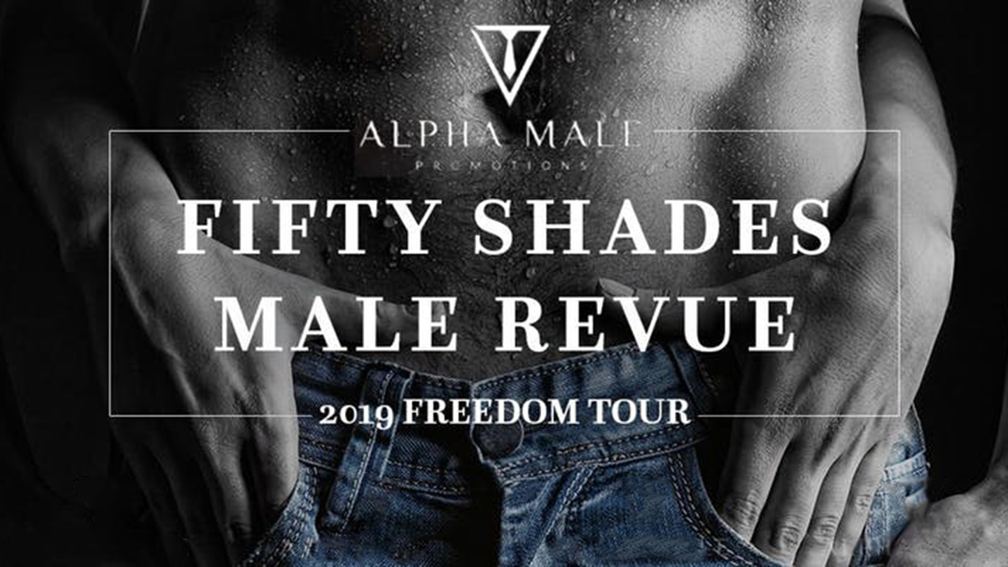 """Sexy Men Take Over the Stage in """"Fifty Shades Male Revue"""""""