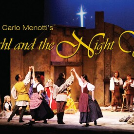 "Gian Carlo Menotti's ""Amahl and the Night Visitors"