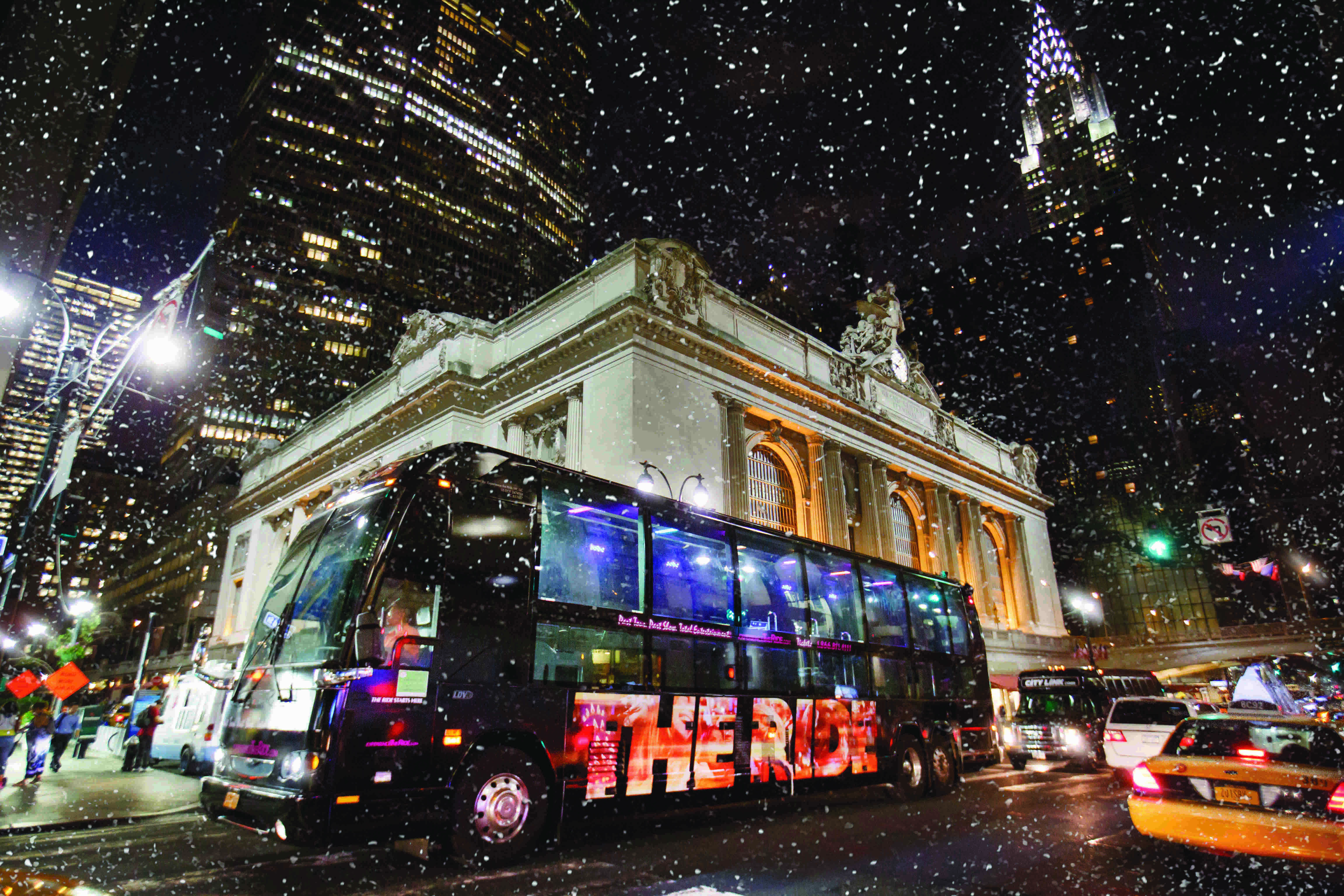 """""""The Ride"""": An Interactive NYC Bus Tour Unlike Any Other"""