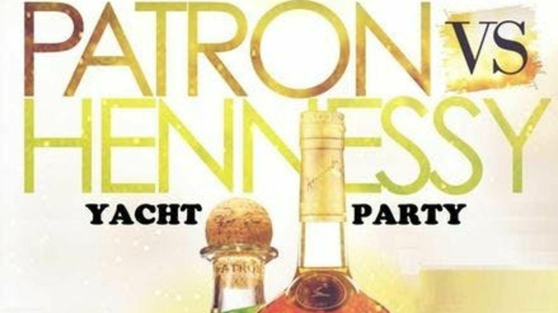 Henny vs Patron Yacht Party