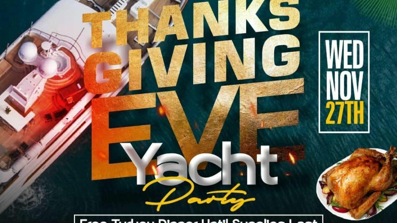 Thanksgiving Eve Booze Cruise