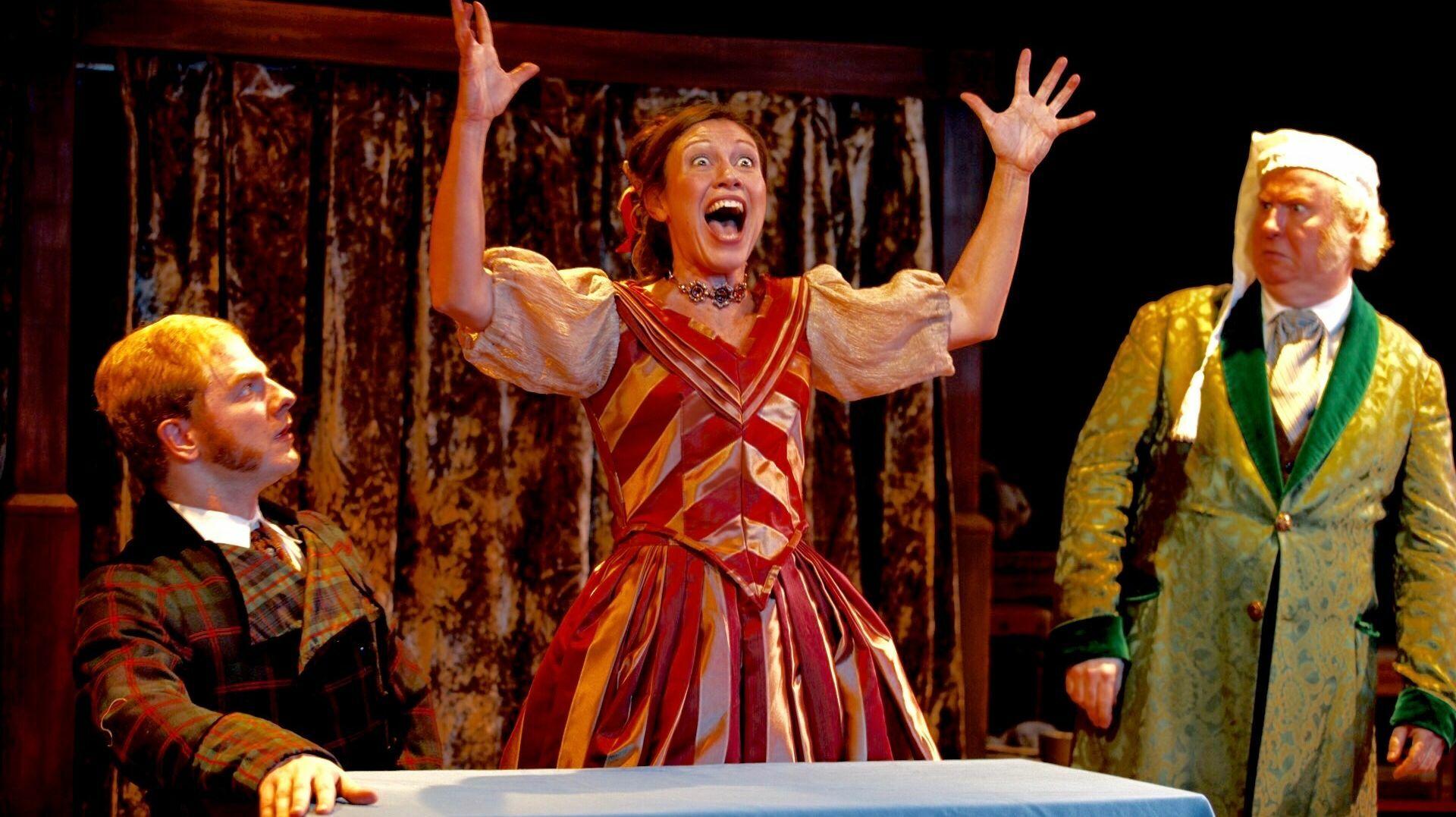 """A Christmas Carol"" Presented by Titan Theatre Company"