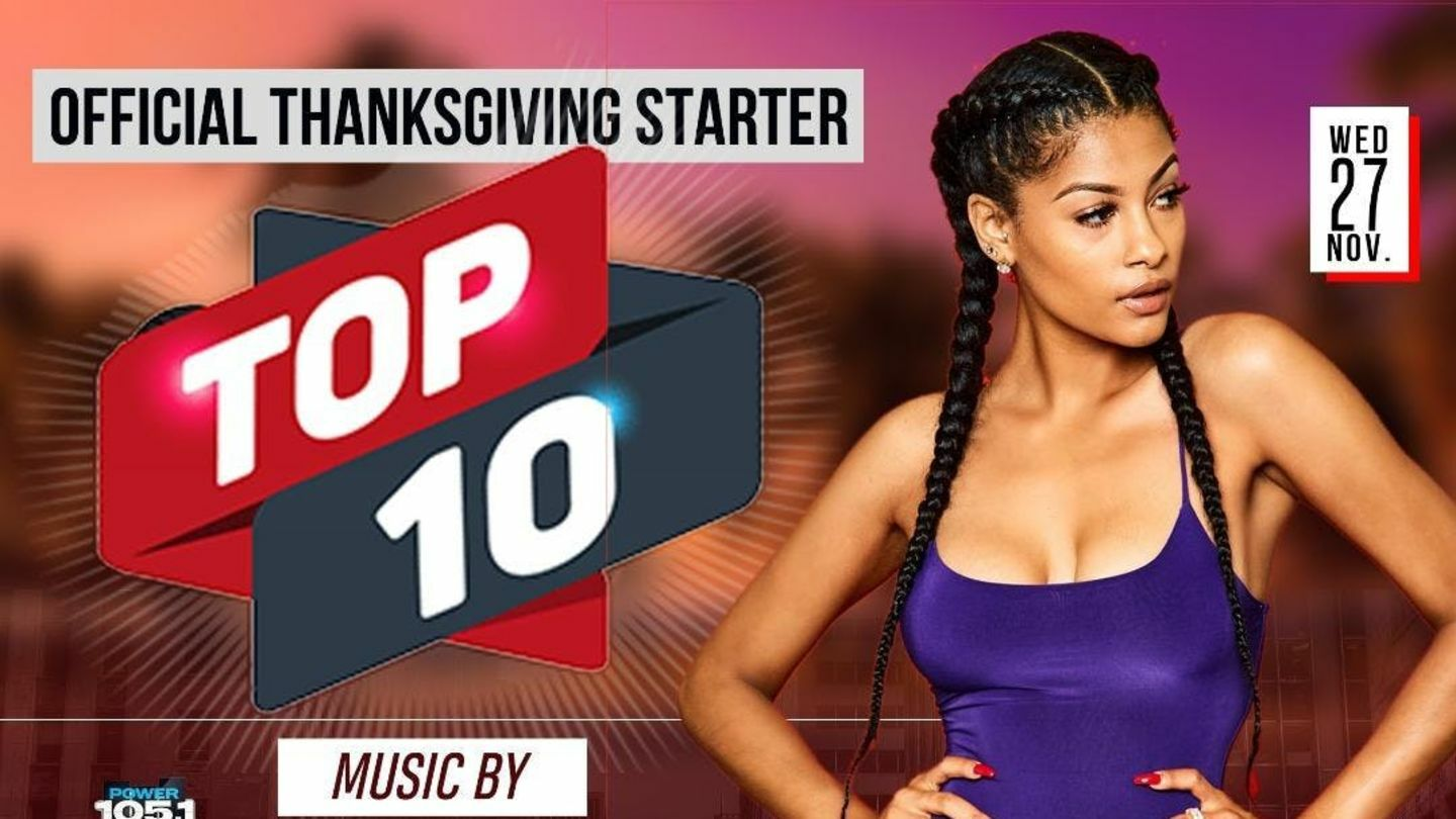 Thanksgiving Starter Top 10 with DJ Norie