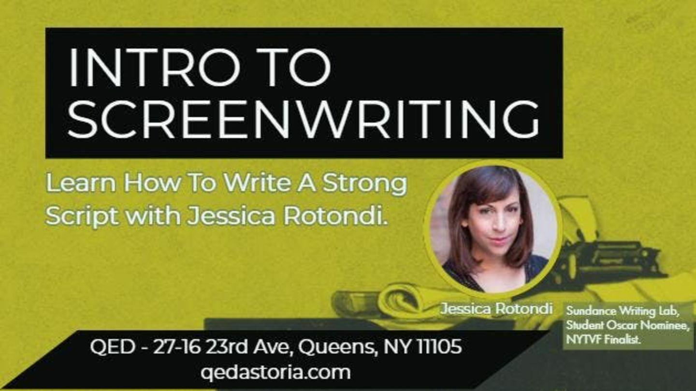 Intro to Screenwriting Class
