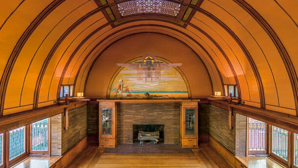 Tour the Frank Lloyd Wright Home and Studio