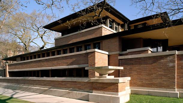Frederick C. Robie House Tour
