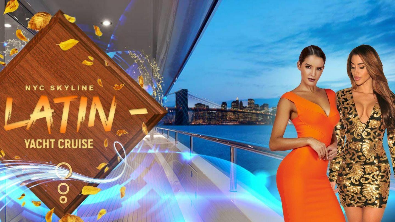 Thanksgiving Latina Yacht Cruise Boat Party NYC Skyline