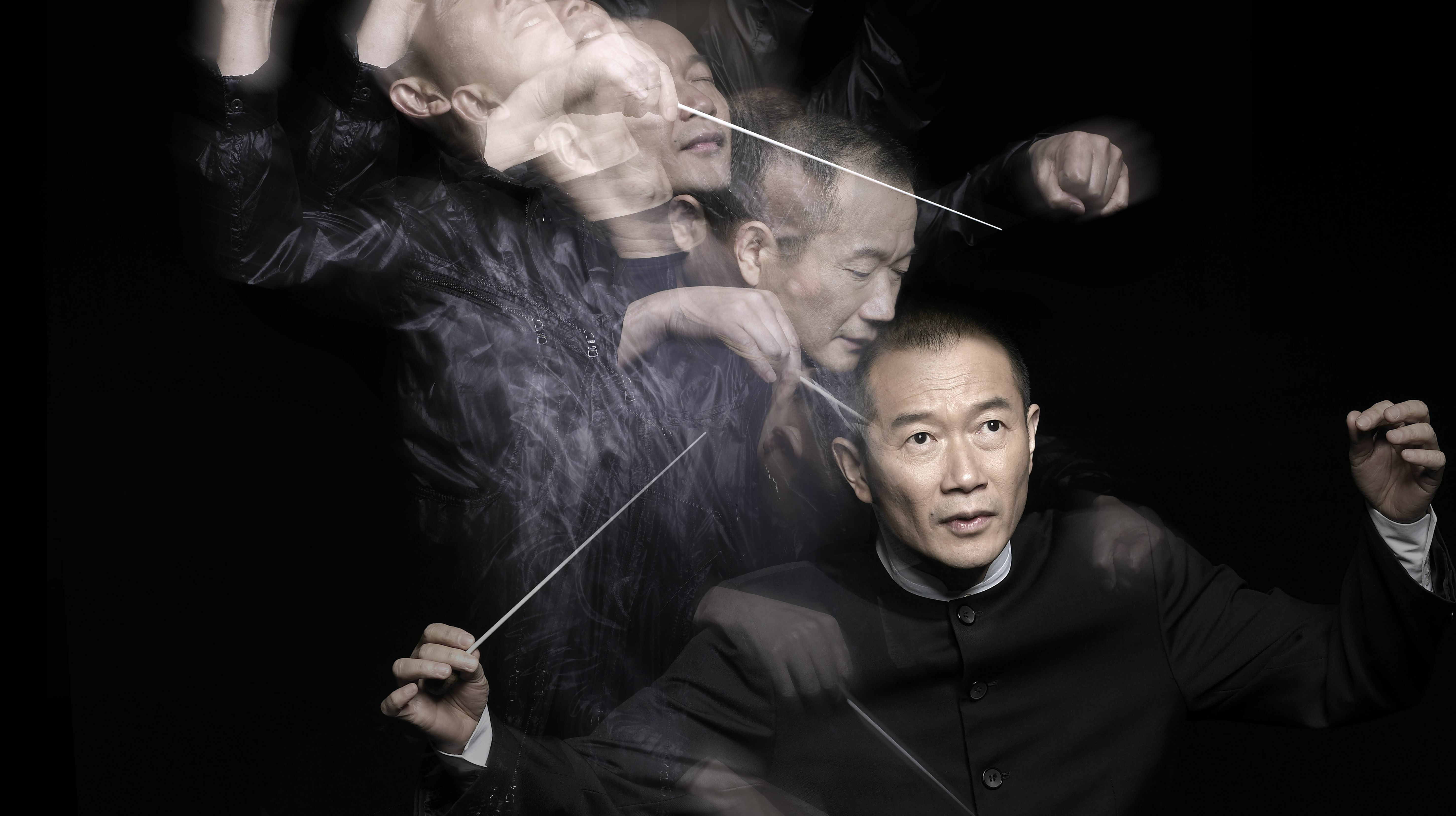 Academy Award Winner Tan Dun Conducts The Orchestra Now
