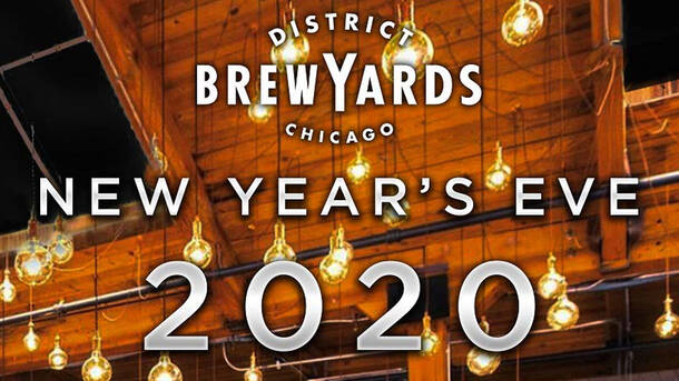 District Brew Yards NYE Party