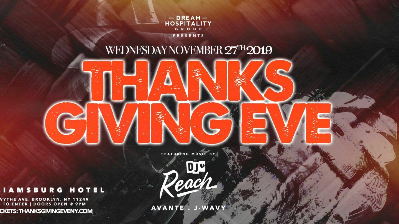 Thanksgiving Eve At Willamsburg Hotel