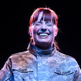 "WORLD STAGES -- ""Heroine"": One Female Soldier's Story"