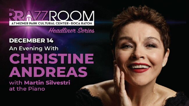 Christine Andreas Tickets