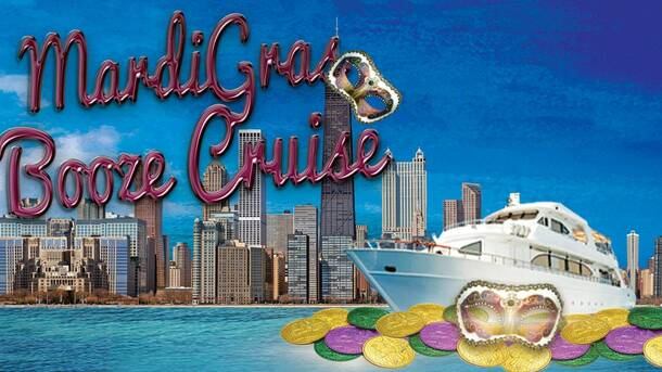 Yacht Party Chicago's Mardi Gras Booze Cruise