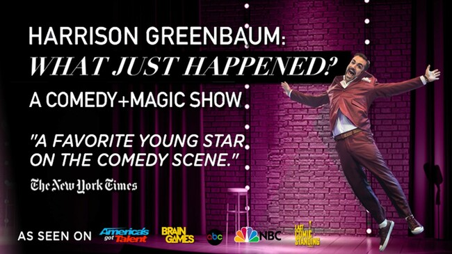 Comedian/Magician: Harrison Greenbaum Tickets