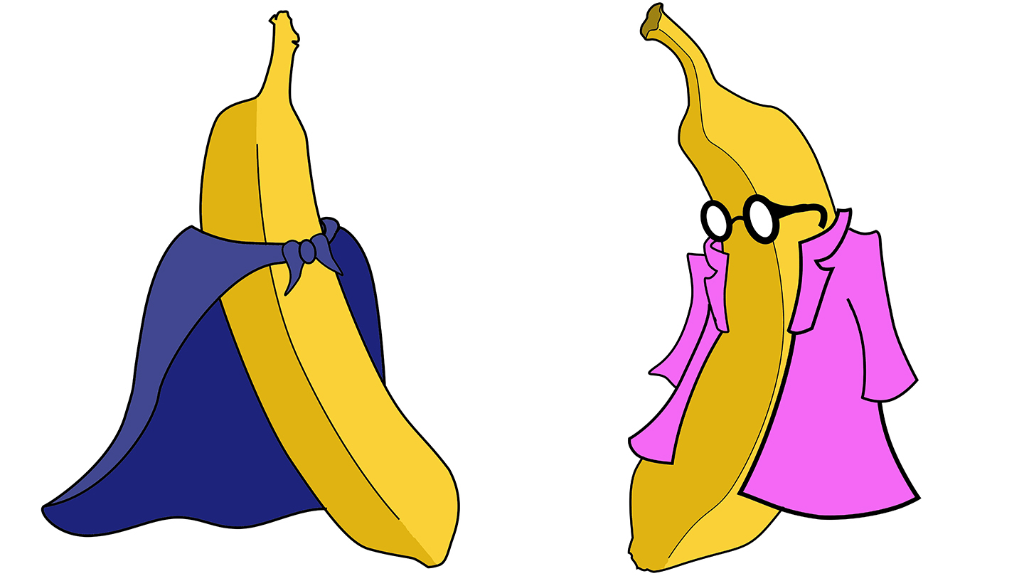 Totally Bananas Cartoon-Style Two-Woman Show