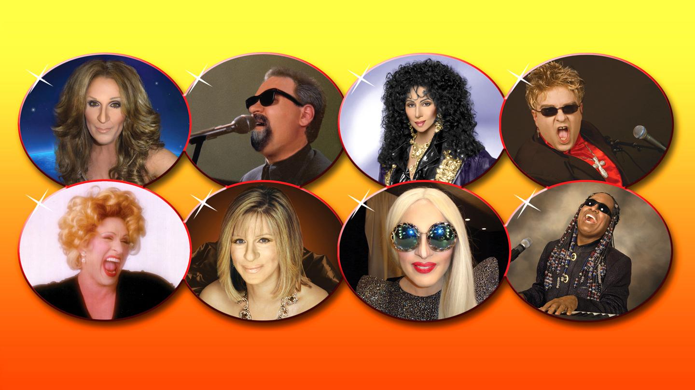 Cher, Valli, Streisand & More Vegas Edwards Twins Impersonators