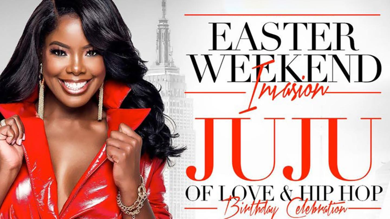 Celebrate Easter Weekend with Juju Casteneda