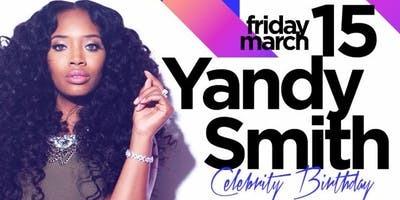 Yandy Smith Celebrity Birthday Bash