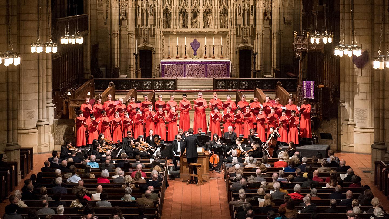 "The Saint Thomas Choir of Men and Boys Perform Bach's ""Saint John Passion"""