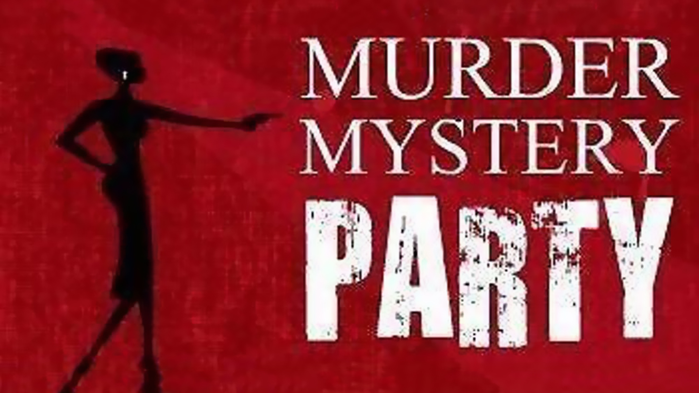 Murder Mystery Cocktail Party